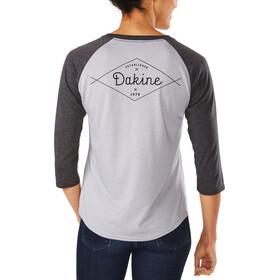 Dakine 3/4 Raglan Tech T Women Heather Dark Grey